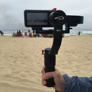 Be at the Beach, Summer Adventures with a Camera Stabilizer