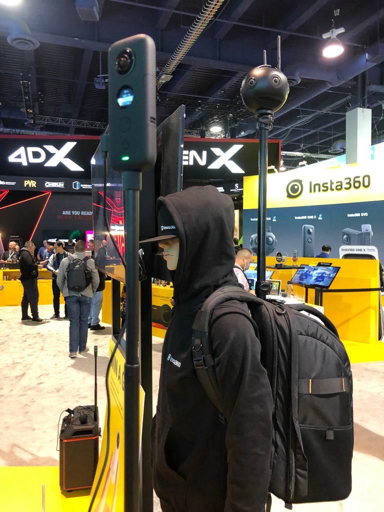 The Monopole Backpack at CES 2020
