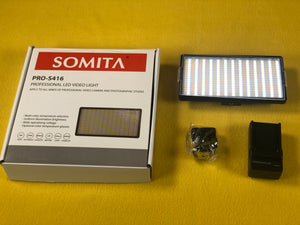 For just $25.95 Pickup the Somita S416 LED Light on Camera Video Light
