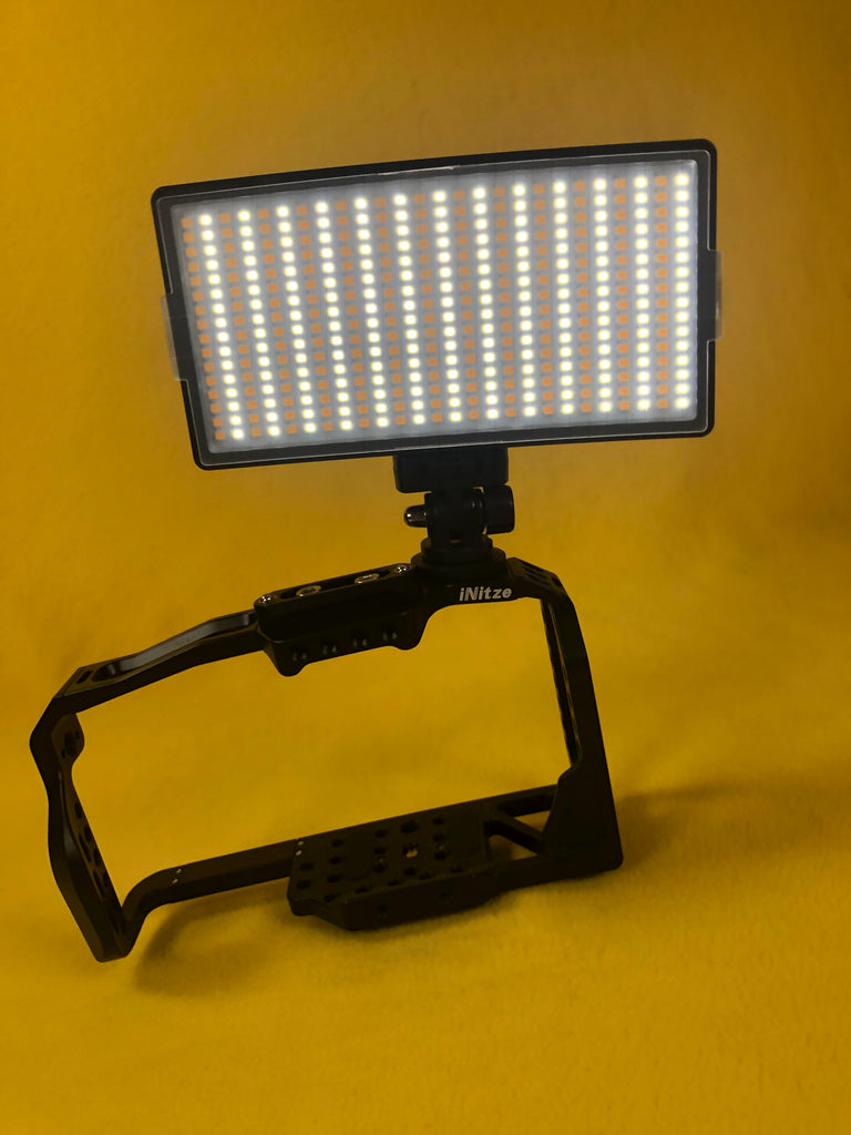 Now Available on Amazon, The Somita S416 LED Light on Camera Video Light