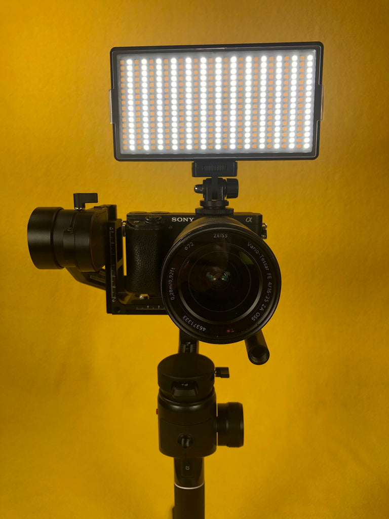 The Most Affordable On Camera LED Light for Your Gimbal