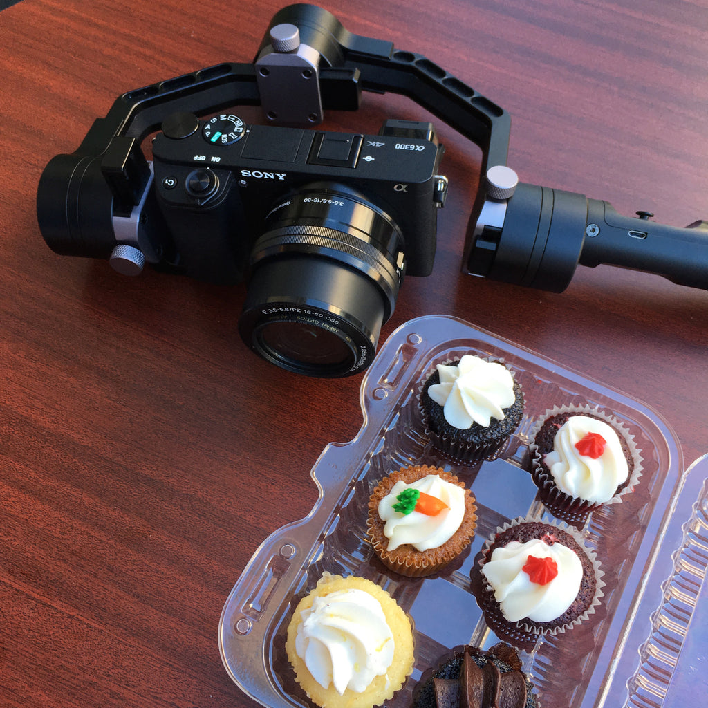 Cupcake Friday with the Zhiyun Crane Camera Stabilizer, Crane Stabilizer Video