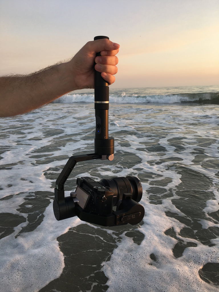 Camera Stabilizers and the Beach, Camera Stabilizer Comparison Footage