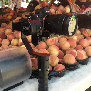 Check out those Peaches with a Beholder EC1 Camera Stabilizer