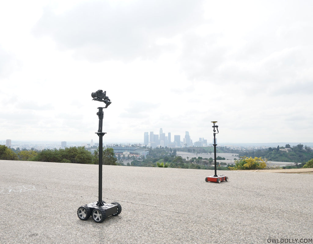 Guru 360 Gimbal and Guru 360 Rover Are The Perfect 360 Match!