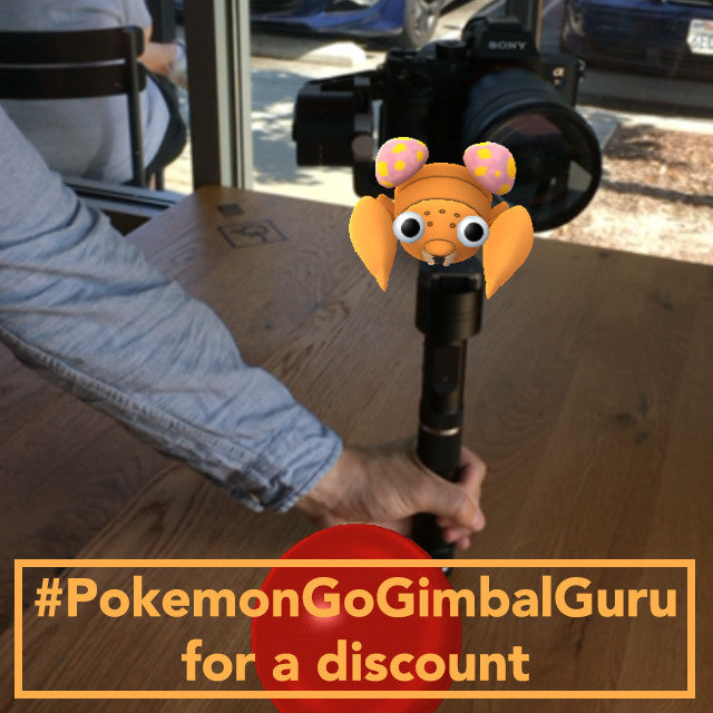 Discount Code and  Pokémon Go Trainer's Tips, Best Camera Stabilizer under $800