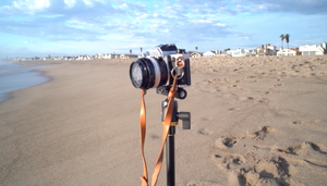 Gliding around with Zhiyun Crane at Oxnard Beach