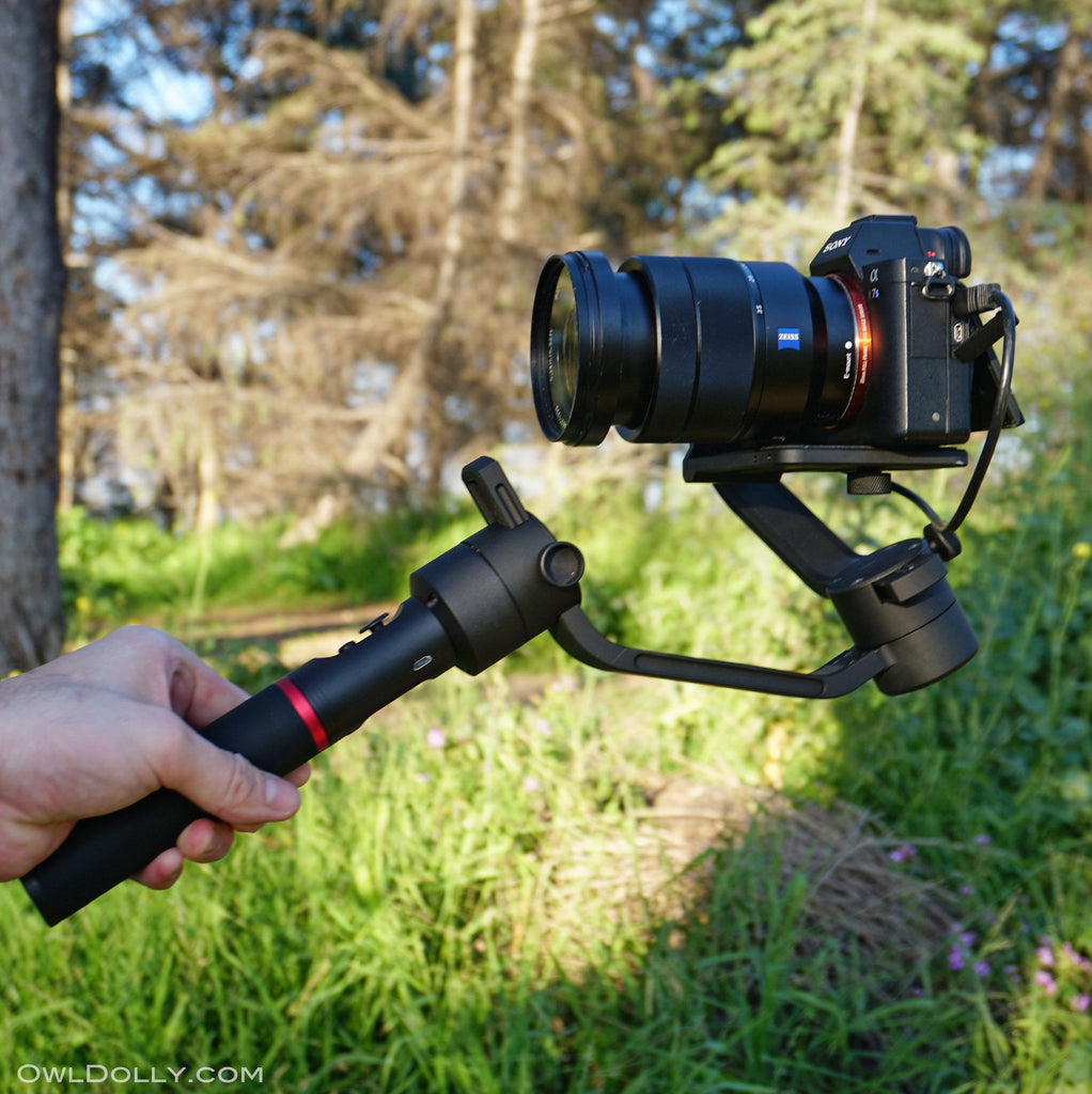 Introducing MOZA Air Camera Stabilizer to the OwlDolly family!