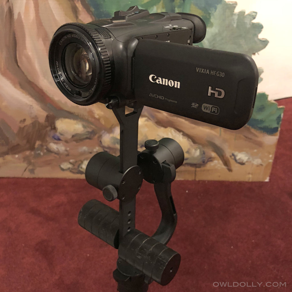 Guru 360 Air Proves To Be A Versatile Gimbal Paired With Canon Vixia Hf G30 Camcorder!