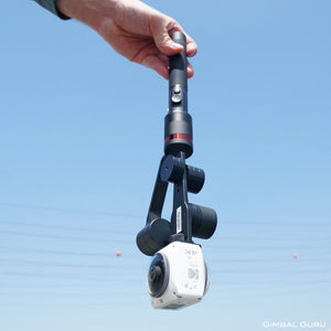 Guru 360° Gimbal Stabilizer is essential for getting the best footage from your 360 camera!
