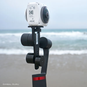360Rumors.com tests Guru 360 Gimbal Stabilizer with Kodak Orbit 360 4k!