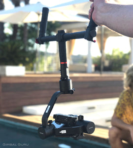 MOZA Air Gimbal Stabilizer Dual Handles Make For Your Smoothest Shooting Experience Ever!
