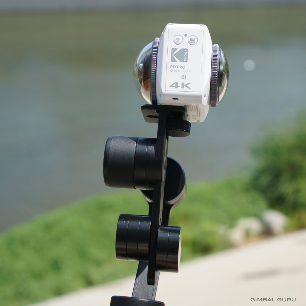 New video! Balancing Kodak Orbit 360 with Guru 360 Gimbal Stabilizer!