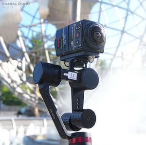 Guru 360° Gimbal Stabilizer spends the day with Kodak Pixpro SP360 4k for smooth 360 footage!