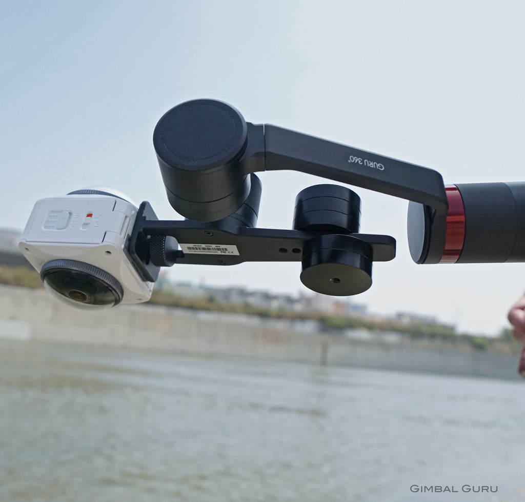 Immersive Shooter reviews Guru 360 Gimbal Stabilizer in video and article!