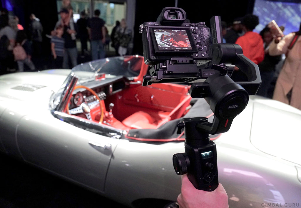 Moza Air 2 Gimbal Stabilizer Visits Los Angeles Auto Show!