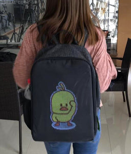 Brighten Your Day With GifPack Customizable LED Backpack!