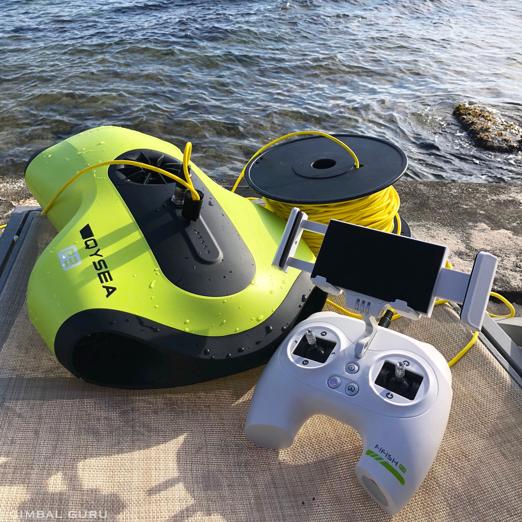 Explore Unknown Depths With Remote Controlled Underwater Drone, FIFISH P3!