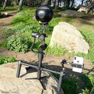 Kevin Kunze Tours The Best New Gear From NAB With Guru 360 Gimbal Stabilizer!
