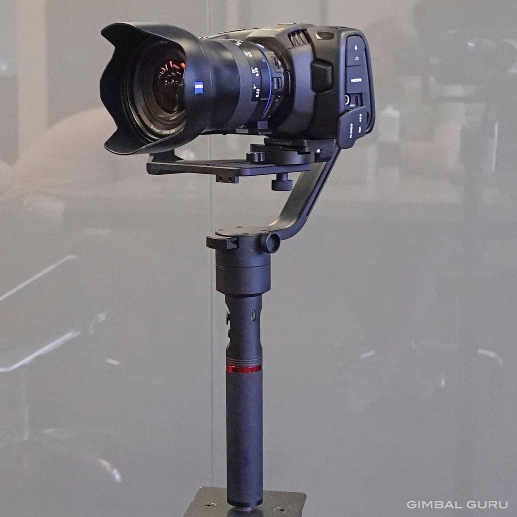 MOZA Air Gimbal Stabilizer And Blackmagic Pocket Cinema Camera 4k Make a Picture Perfect Match