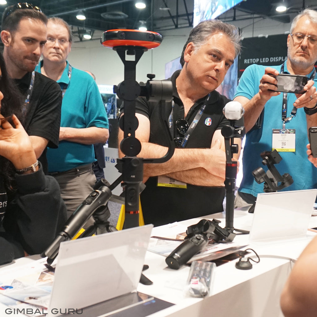 Guru 360 Gimbal And Guru 360 Air Gimbal Stabilizers at NAB Show, Booth C1453!