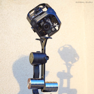 Learn How To Balance Go Pro Omni 360 Camera And Guru 360 Gimbal Stabilizer!