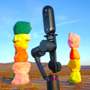 360 Filming with award winning filmmaker Faith Granger and Guru 360 Gimbal Stabilizer!