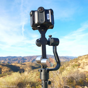 Ben Claremont of Life In 360 explores Guru 360 Stabilizer vs. 6-Axis Stabilization!