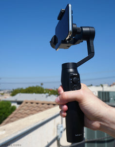 Exploring MOZA Mini-Mi Smartphone Stabilizer's Advanced Time Lapse Mode With YouTuber EMT!
