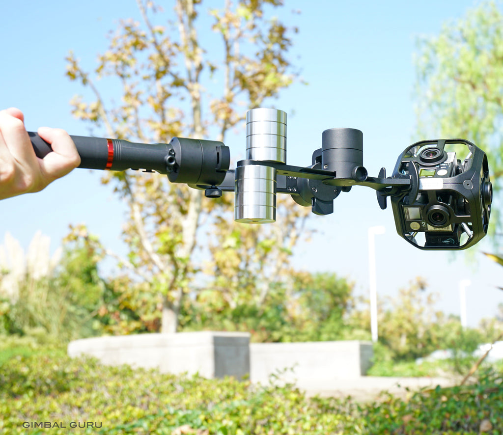 Guru 360 Air Gimbal Stabilizer Is Restocked! Available Now!