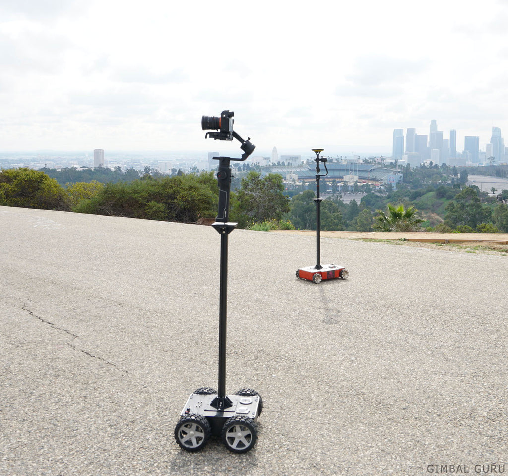Take Filming To The Next Level With The Omnidirectional Guru 360 Rover and Remote Control!