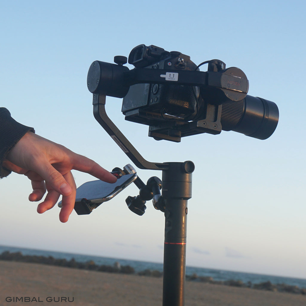 How To Set Up And Balance MOZA AirCross Gimbal Stabilizer!