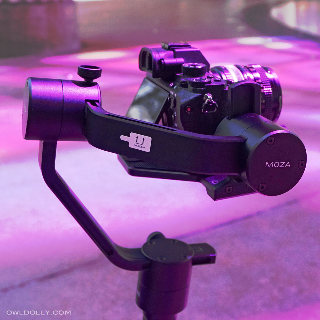 MOZA Air Handheld Gimbal Stabilizer offers the most payload for the best price!