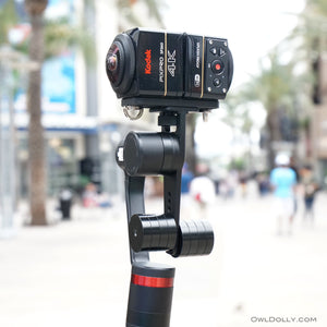 Out and about with Guru 360° gimbal stabilizer and Kodak Pixpro SP360!
