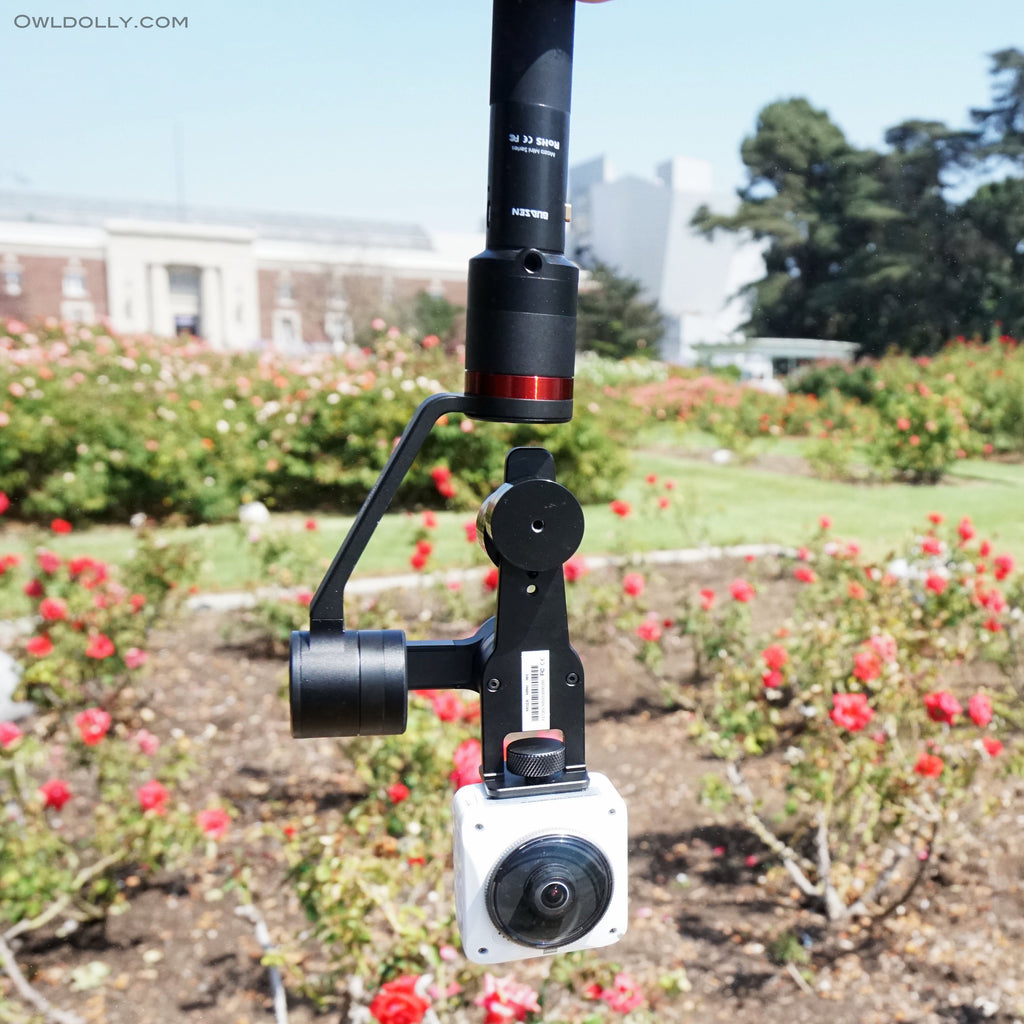 Guru 360° Gimbal Stabilizer is the perfect tool to pair with your 360 camera!