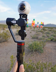 Go from Guru 360 gimbal, to GoPro, to smartphone with MOZA interchangeable system!