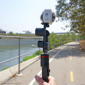 MOZA Guru 360° Air Camera Stabilizer Setup Test with Insta360 Pro and a Rover!