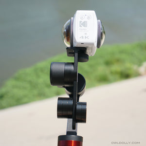 Smooth 360 Footage While Skateboarding With Guru 360 Gimbal Stabilizer and Garmin Virb 360!