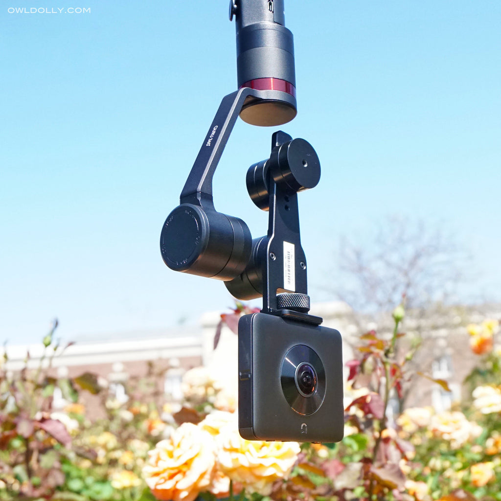 Guru 360° Gimbal Stabilizer Features 3 Film Modes and Auto Inversion!