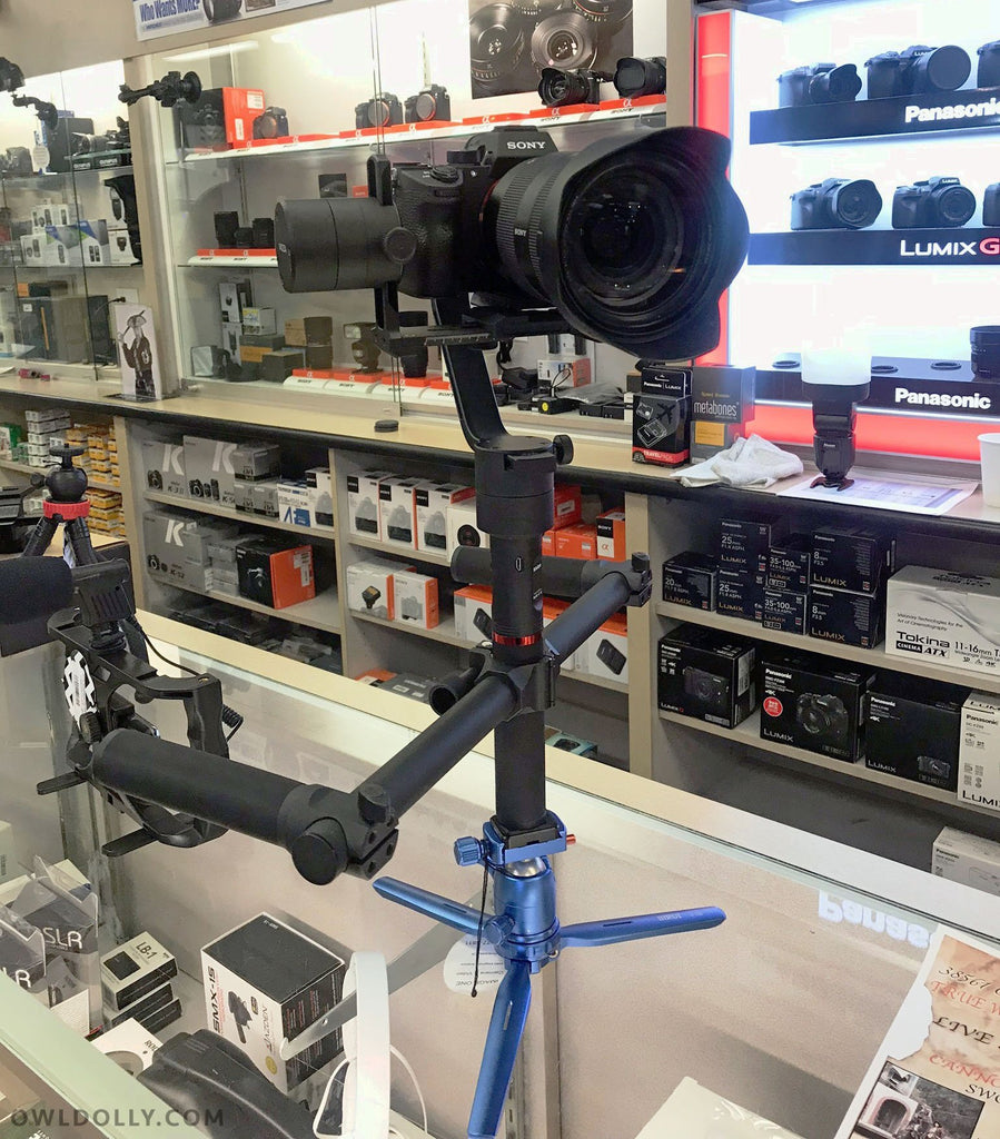 MOZA Air, Aircross, Zhiyun Crane-2, and more gimbals now at Image One Camera & Video store!
