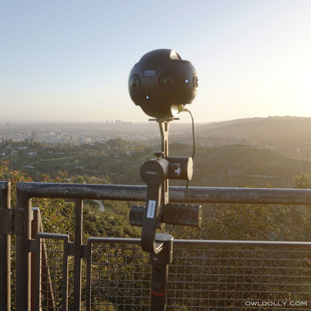 Expand your creativity in 360 degrees with Guru 360 Air Gimbal Stabilizer!