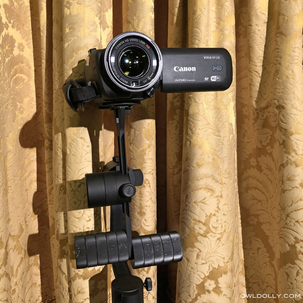 More than just a 360 Gimbal, Guru 360 Air Pairs with Canon Vixia Hf G30 Camcorder!