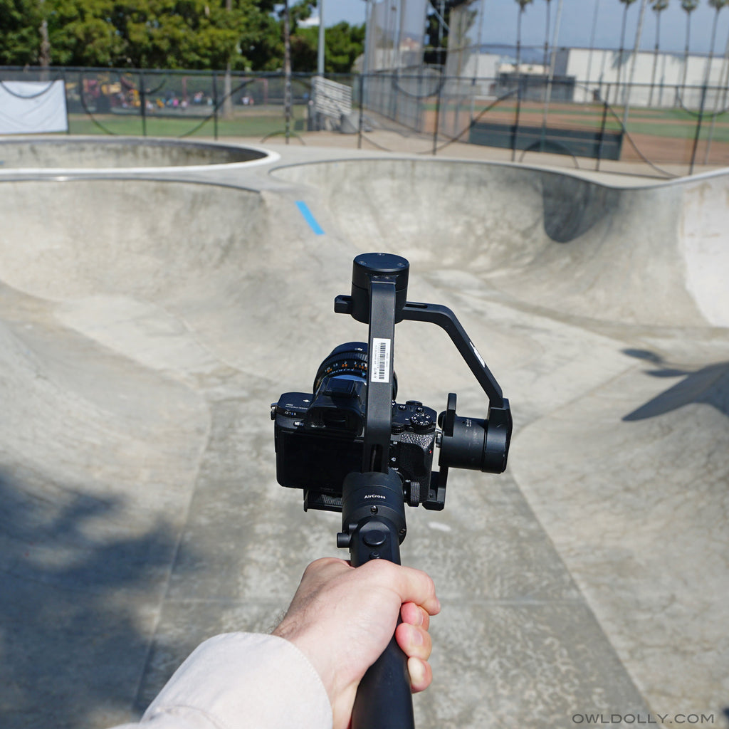 Filmmaker Mr. Cheesy Cam Shares Review and Footage of MOZA AirCross!
