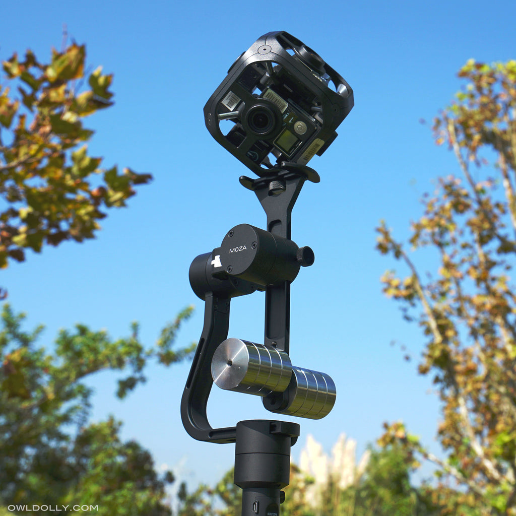 Learn How to Use Guru 360 Gimbal Stabilizer With GoPro Omni 360 Camera!