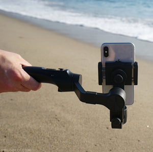 The MOZA Mini-Mi Gimbal and App Opens Professional Cinematic Functions For Your Phone!