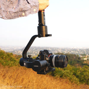 Great cinematography starts with great equipment like MOZA Air Gimbal Stabilizer!