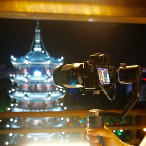 Travel the world easily with the Zhiyun Crane!