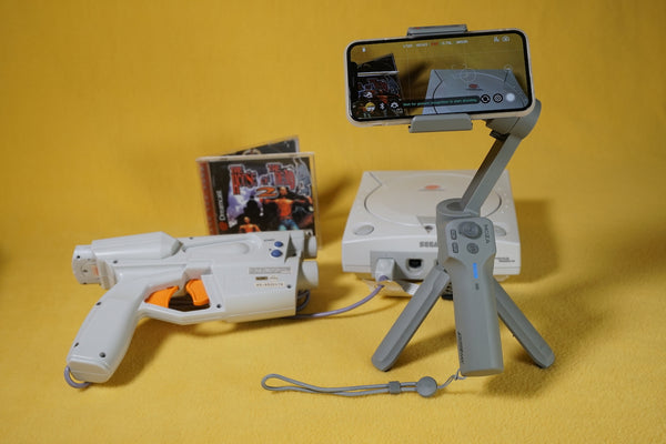 MOZA Mini MX Dreamcast House of the dead 2