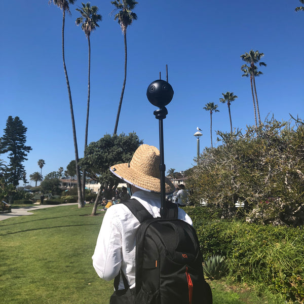 Monopole Backpack, Insta360 One X, Insta360pro 2, Insta360 One X2, Insta360 One R, 360 Camera, 360 Tour, Google Street View, Virtual Tour, 360 Video, 360 View, Film 360, 360 Photo, 360 Photography, Aerial Photography, Tiny Planet, Little Planet, Flow State, Virtual Visit, Ocean Front, Ocean Park, Beach.