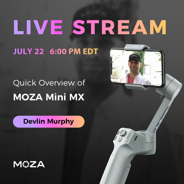 MOZA Academy Live Stream Mini MX